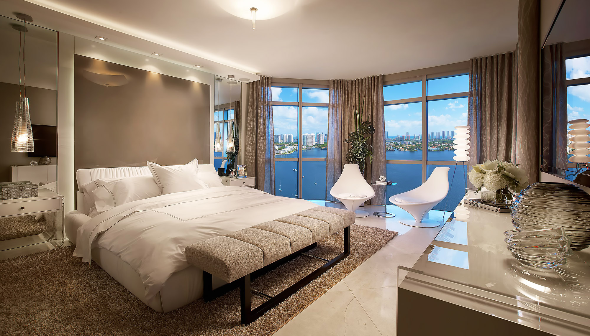 Luxury-Real-Estate-Photography-Bedroom-Marina-Palms